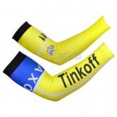 Prix Manchettes Cyclisme Tinkoff Saxo Bank Jaune blue