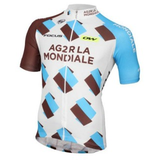 Site Maillot Cyclisme Manche Courte 2017 Equipe Ag2r