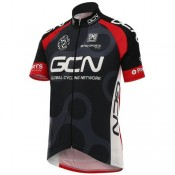 Site Maillot Cyclisme Manche Courte Global Cycling Network GCN TDF Edition Noir et Rouge 2017