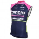 Solde 2016 Lampre Merida Maillot Sans Manches