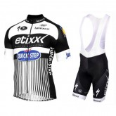 Solde Equipement 2017 Etixx-Quick Step TDF Edition Blanc Tenue Maillot Cyclisme Courte + Cuissard à Bretelles