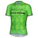 Solde Maillot Cyclisme Manche Courte Cannondale-Garmin Equipe vert Pro 2017