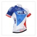 Solde Maillot Cyclisme Manche Courte FDJ.FR