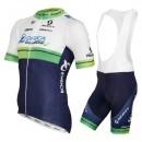 Tenue Maillot Cyclisme Courte + Cuissard à Bretelles Orica GreenEdge 2016 Vendre France
