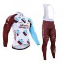 Tenue Maillot Cyclisme Longue + Collant à Bretelles 2016 Equipe Ag2r 3 Site Officiel France