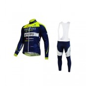 Tenue Maillot Cyclisme Longue + Collant à Bretelles Fantini 3 Europe