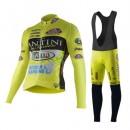 Tenue Maillot Cyclisme Longue + Collant à Bretelles Fantini Bonnes Affaires