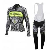 Tenue Maillot Cyclisme Longue + Collant à Bretelles TINKOFF SAXO BANK 12 Europe
