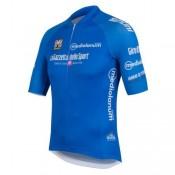 Vente Nouveau Maillot Cyclisme Manche Courte Giro D Italie Maglia Azzurra Bleu 2017
