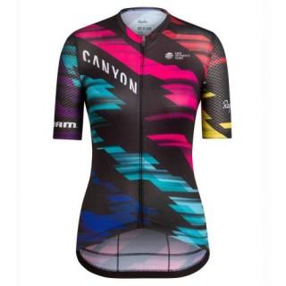 Vente Privée Maillot Cyclisme Manche Courte Equipe Canyon coloré Femme 2017