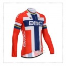 Vente Privee Maillot de Cyclisme Manche Longue BMC 3